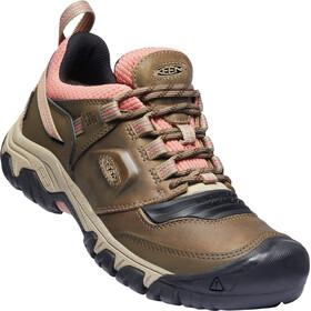 Keen Ridge Flex WP Shoes Women, marrón/gris